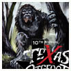 Texas Bigfoot poster painting (acrylic, 2010)